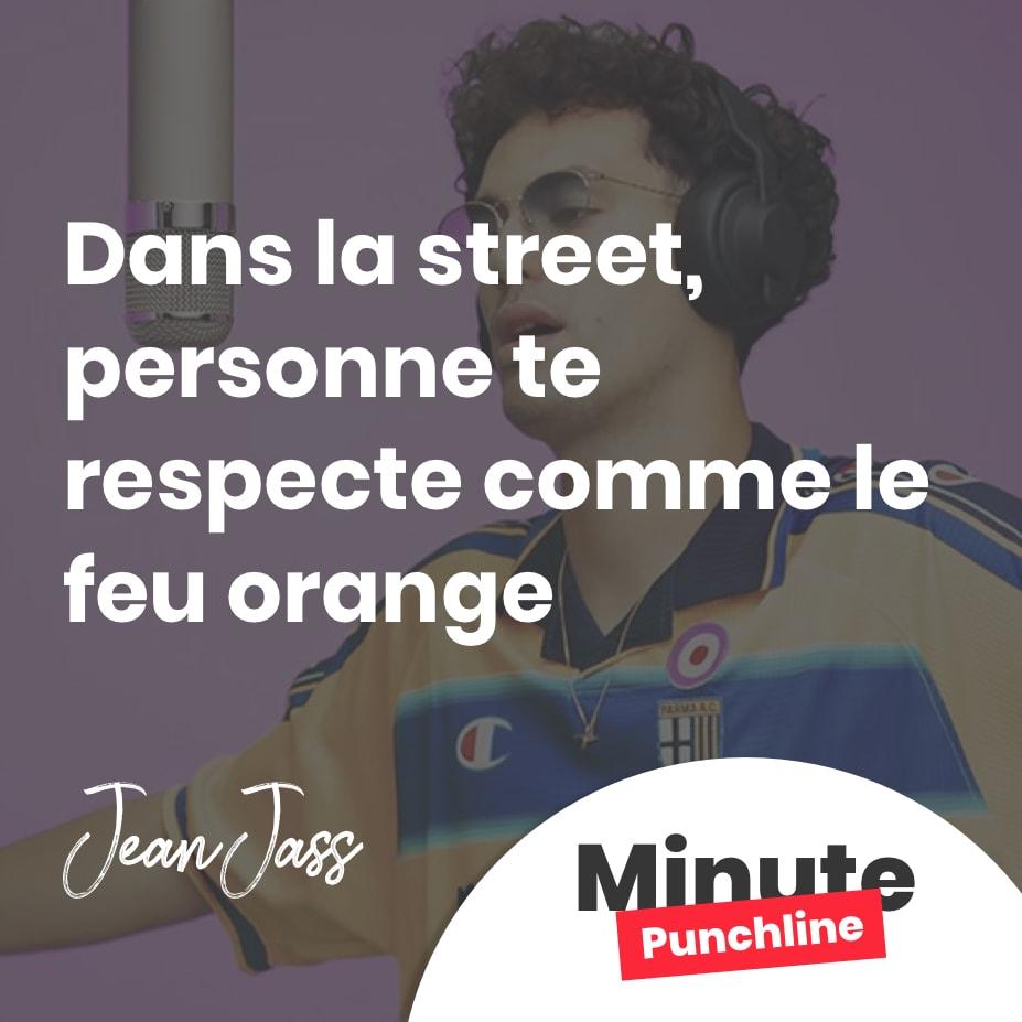 Dans la street, personne te respecte comme le feu orange