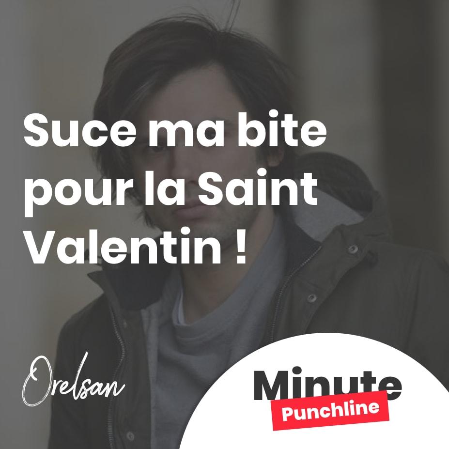 Suce ma bite pour la Saint-Valentin !