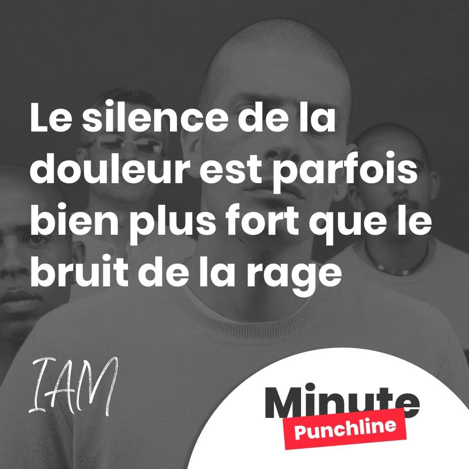 Le silence de la douleur est parfois bien plus fort que le bruit de la rage