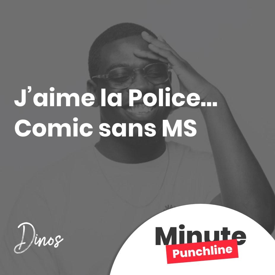 J'aime la Police… Comic sans MS