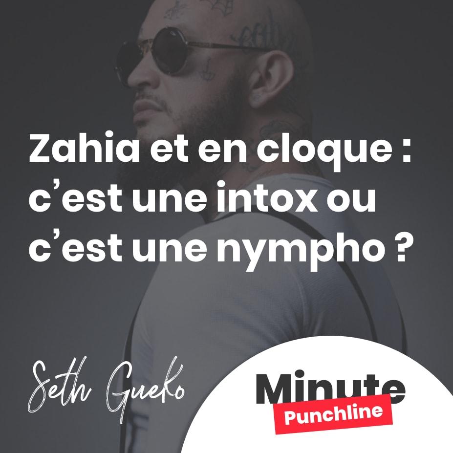 Zahia et en cloque : c'est une intox ou c'est une nympho ?