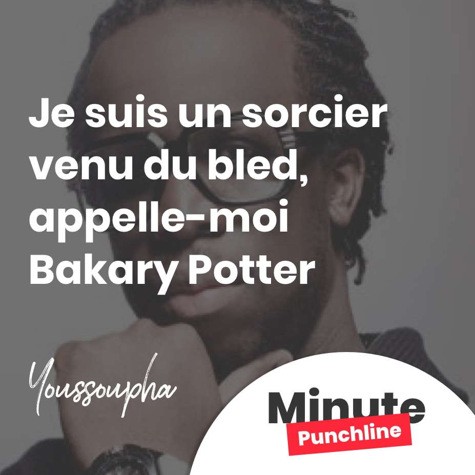 Je suis un sorcier venu du bled, appelle-moi Bakary Potter
