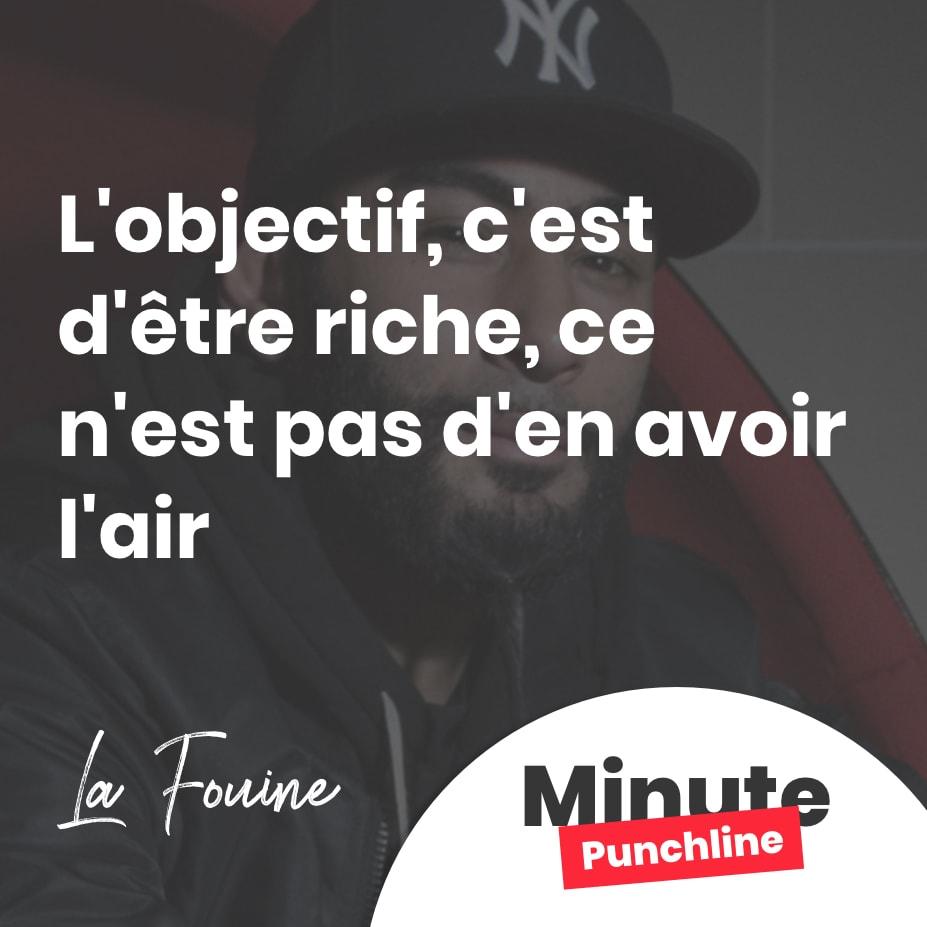 L'objectif, c'est d'être riche, ce n'est pas d'en avoir l'air L'objectif, c'est d'être riche, ce n'est pas d'en avoir l'air