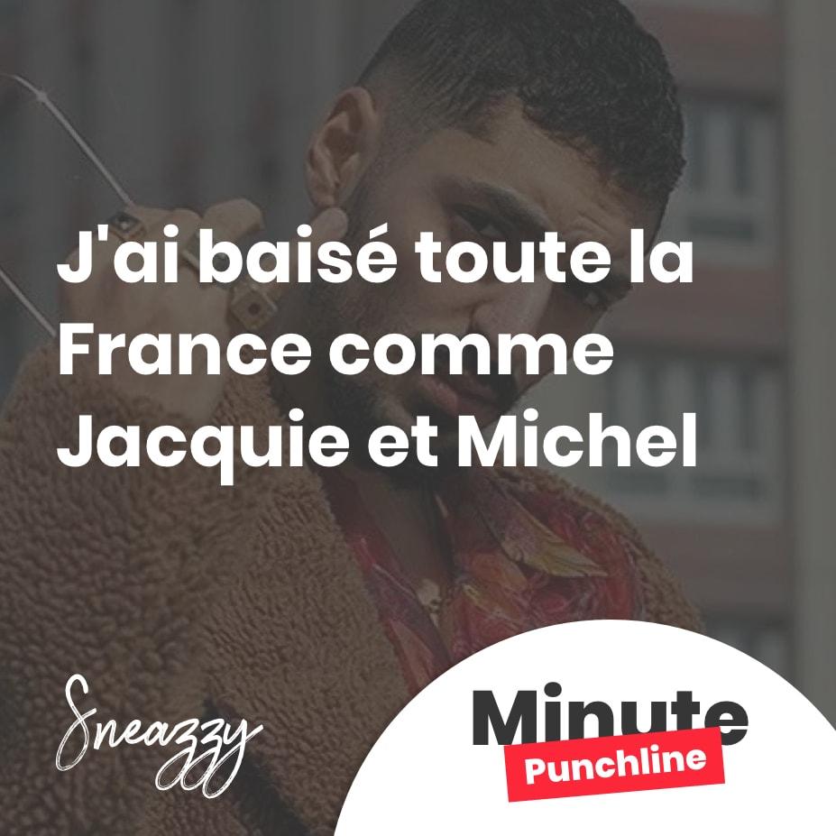 J'ai baisé toute la France comme Jacquie et Michel