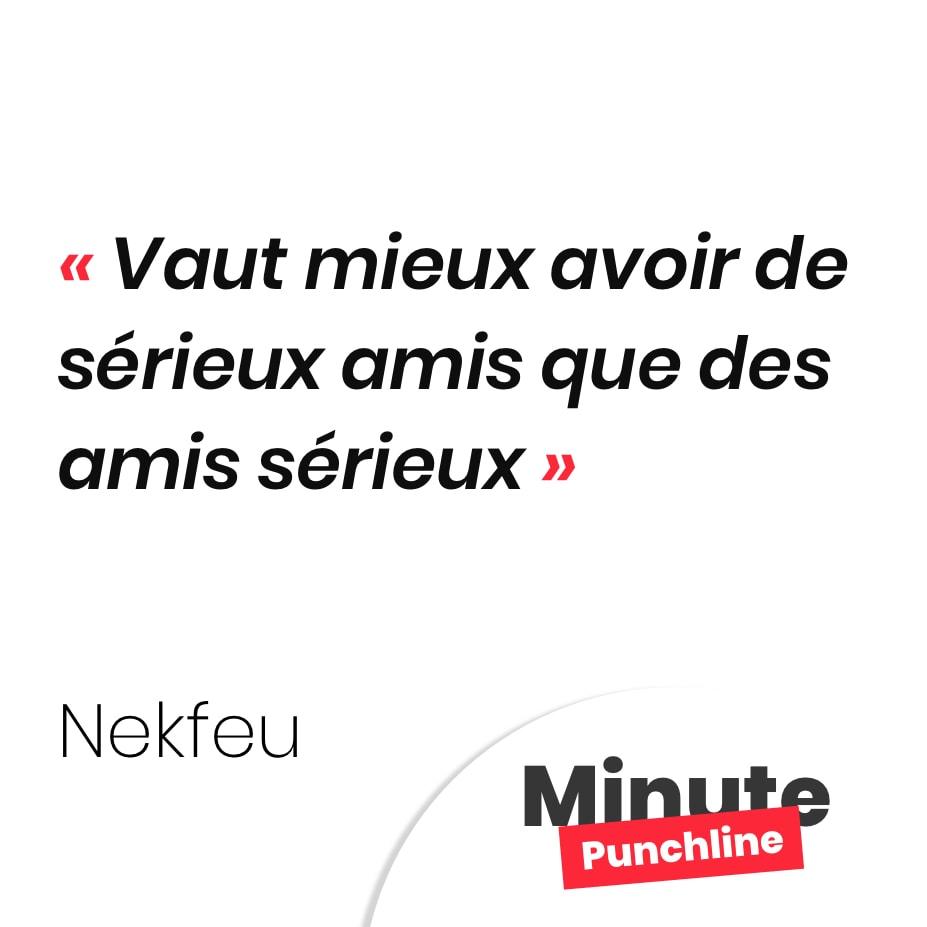 Punchline Nekfeu Les Meilleures Citations De Nekfeu