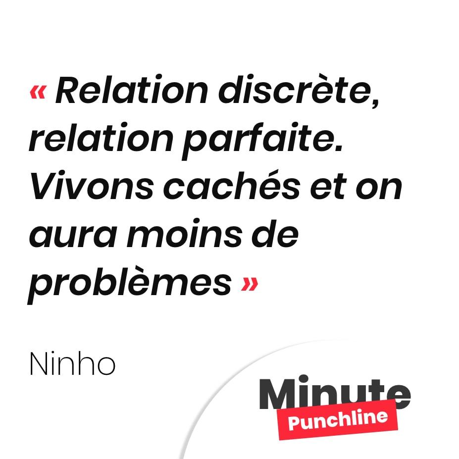 Relation discrète, relation parfaite Vivons cachés et on aura moins de problèmes