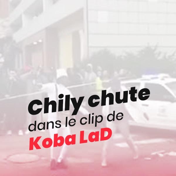 Chily Chute dans le clip de Koba LaD
