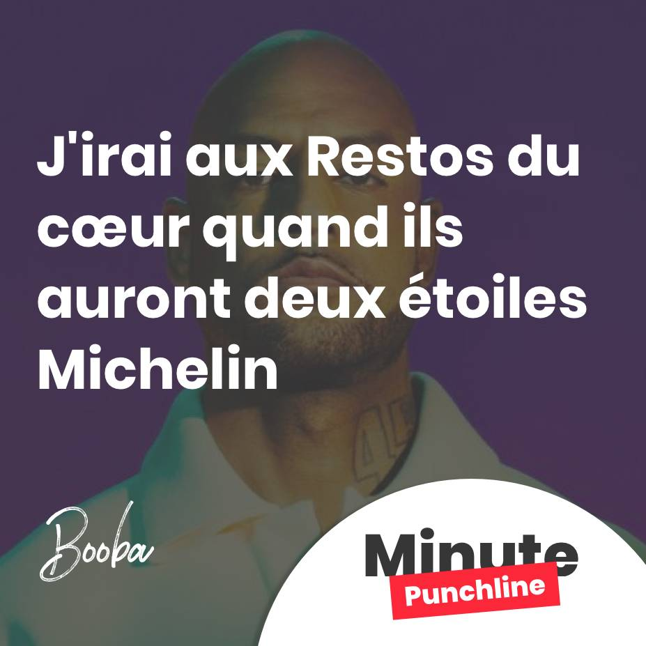 J'irai aux Restos du cœur quand ils auront deux étoiles Michelin